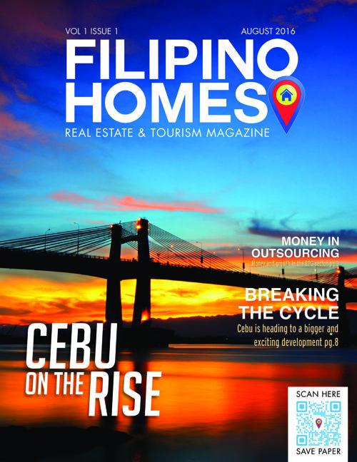 FILIPINO  HOMES  REAL ESTATE & TOURISM MAGAZINE