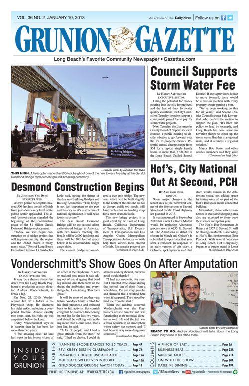 Grunion Gazette | January 10, 2013