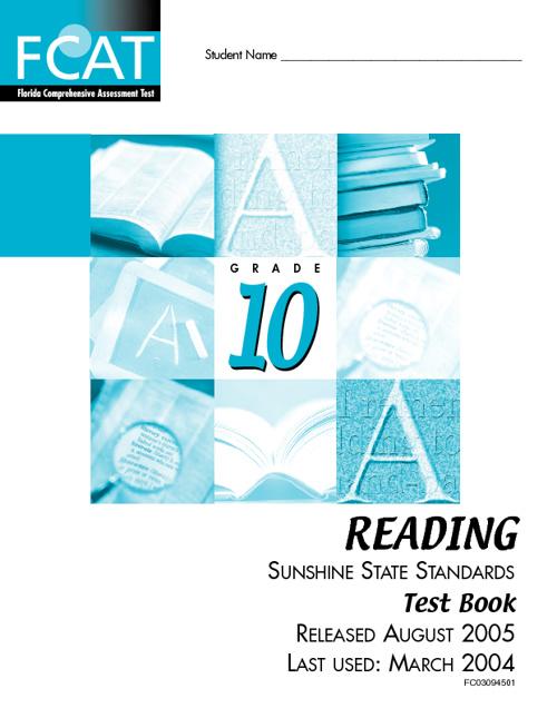 FCAT Reading/Graphic Organizers