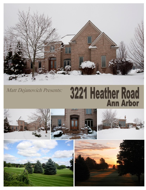 3221 Heather Rd, Ann Arbor presented by Matt Dejanovich