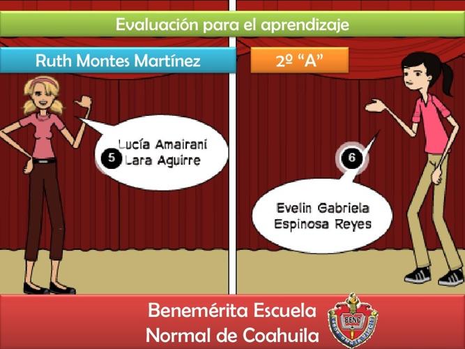 Evaluación para el aprendizaje