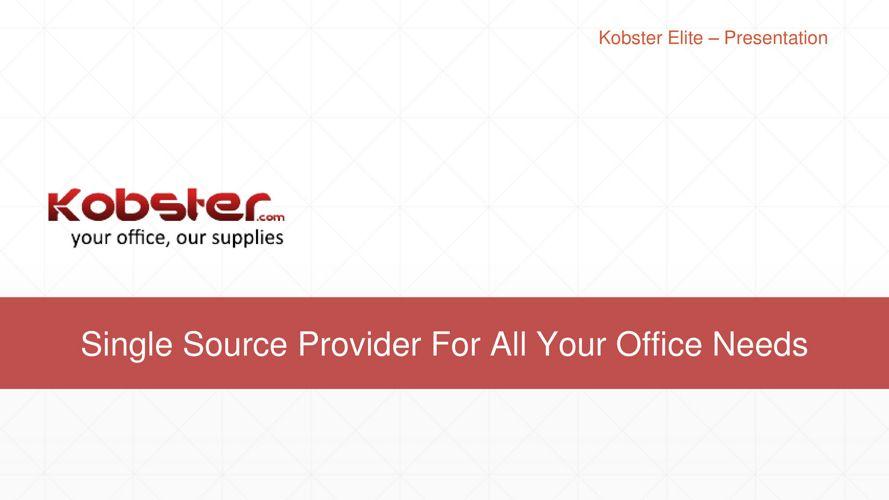 B2B Market Place India - e Procurement Tool