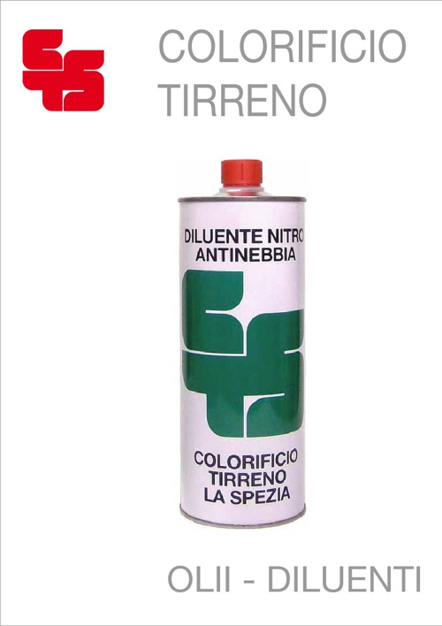 Colorificio Tirreno - Olii Diluenti