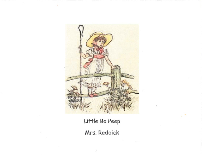 Little Bo Peep - Reddick