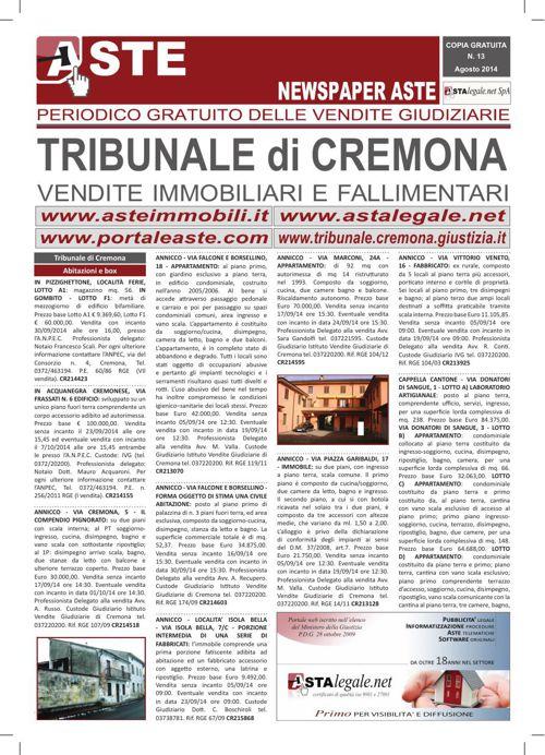 Cremona agosto 2014