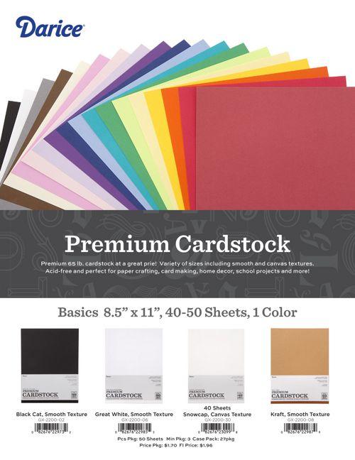 Premium Cardstock Packs