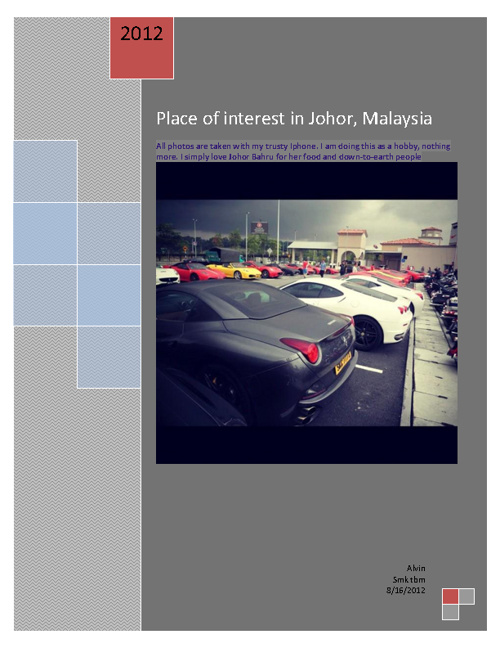 Johor place of interest.
