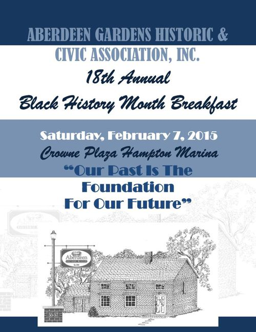 Aberdeen Gardens Historic & Civic Association, Inc Breakfast
