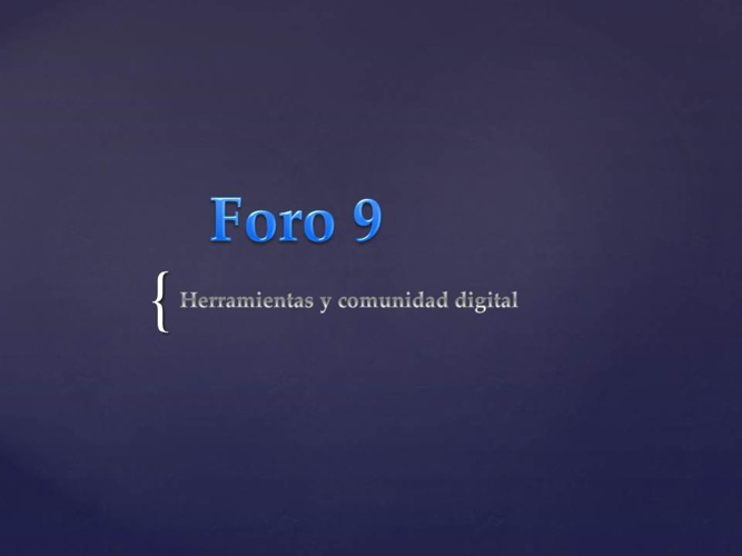 Foro 9