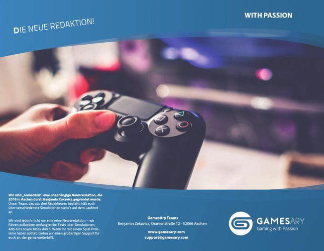 GamesAry Flyer