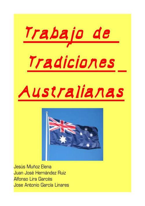 Trabajo de Tradiciones australianas grupo 2
