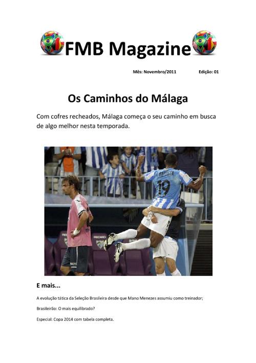 FMB Magazine Edição 01 Novembro/2011