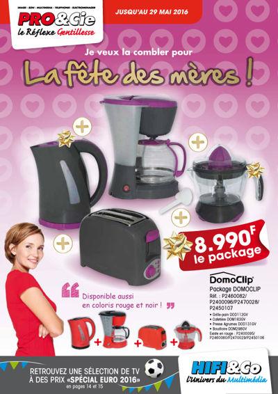 Catalogue Fête des Mères Pro&cie