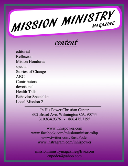 Mission Ministry Magazine - Fourth Edtion