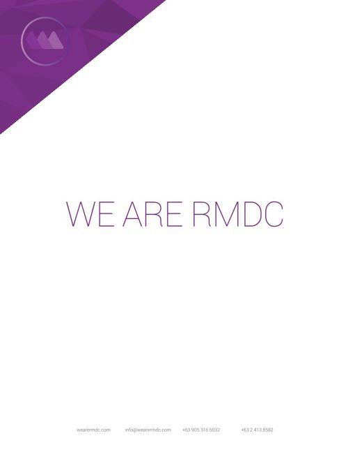 RMDC Company Profile 2015