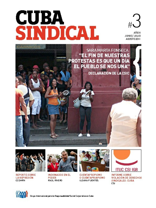 Cuba Sindical #3 Año 2 / Junio-Julio-Agosto 2011