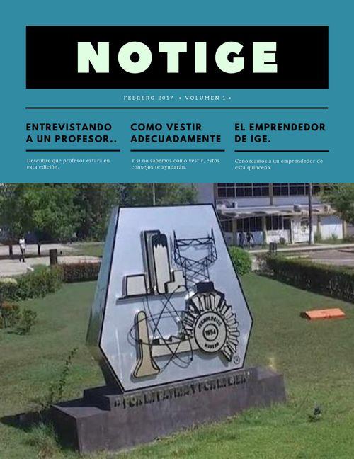 NotIGE 1er Edición
