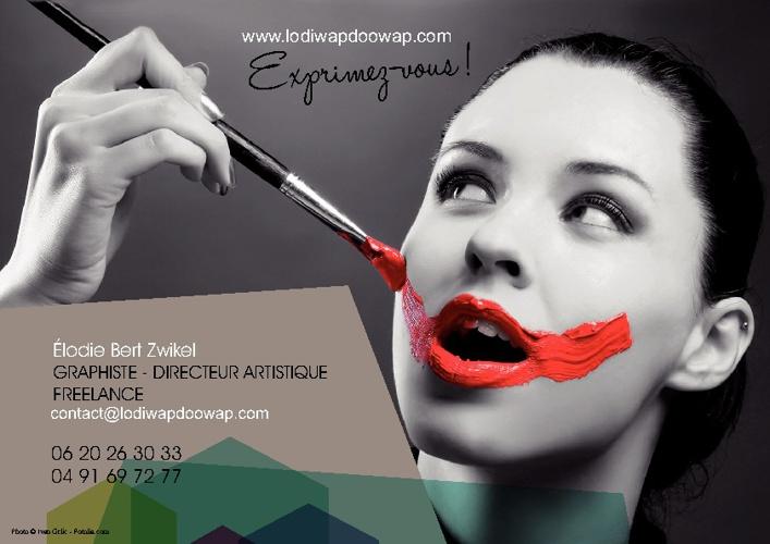 BOOK Elodie Bert Zwikel - Graphiste DA Freelance