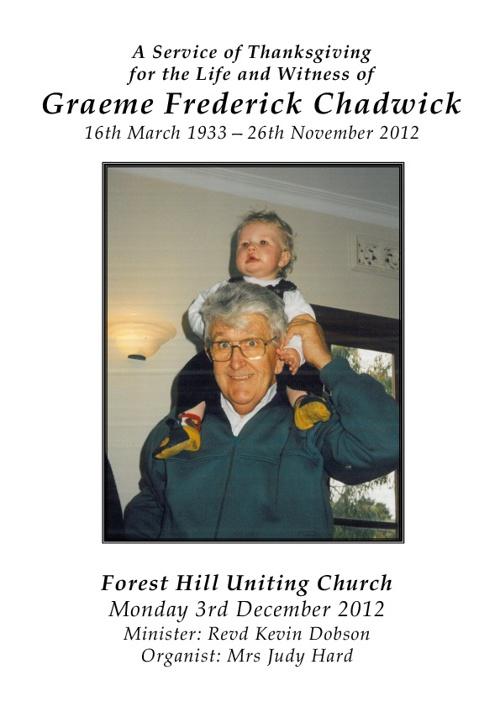 Graeme Chadwick