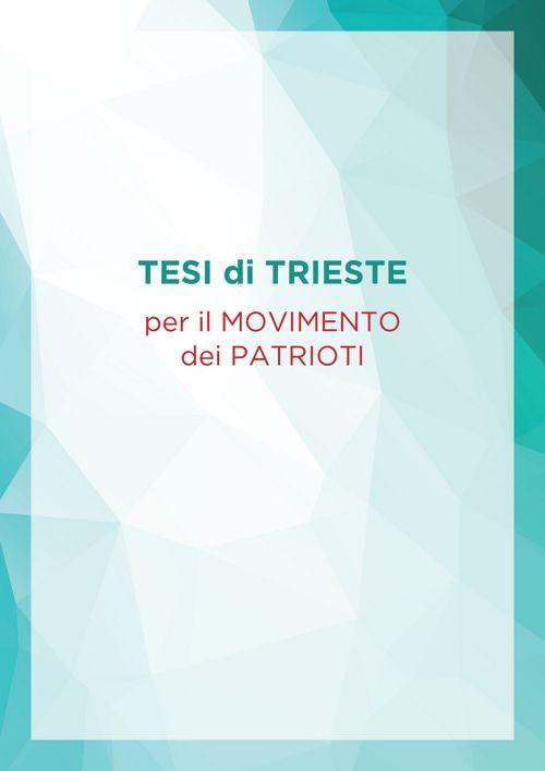 Tesi di Trieste