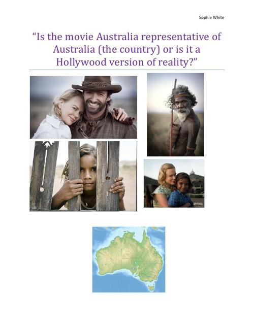 Australia - The Movie VS The Country