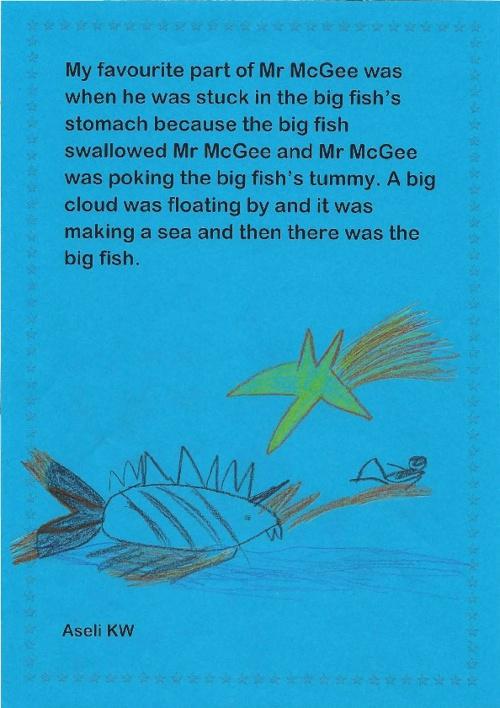 Writing Comp: Kindergarten
