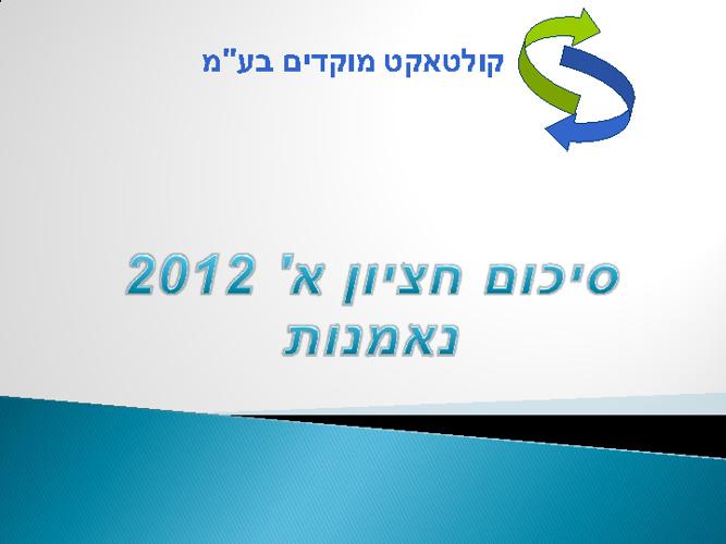 מצגת 2012