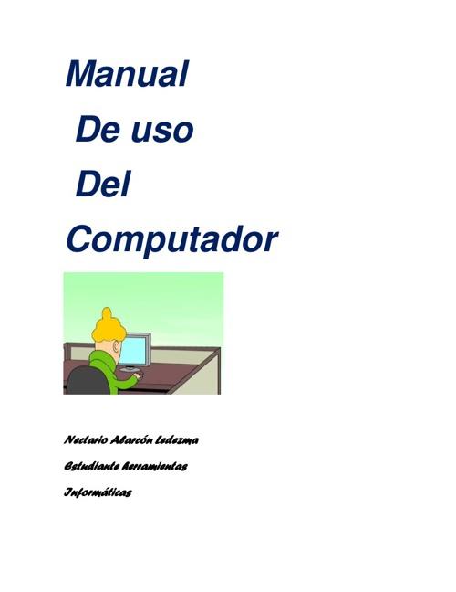 Manual de Uso del Computador