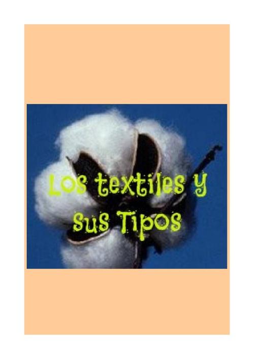Los Textils y Sus Tipos