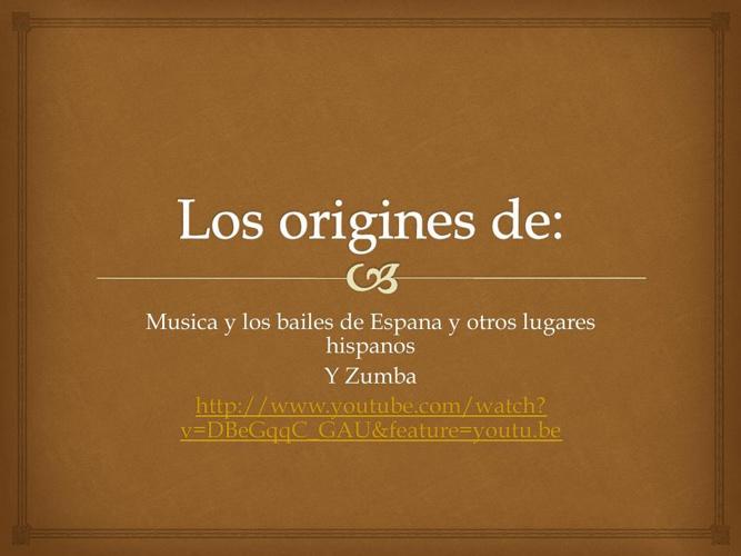 zumba and latin origins