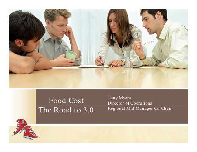 Food Cost  3.0