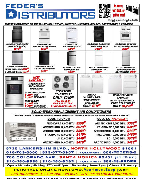 Apartment Supply Current Ads
