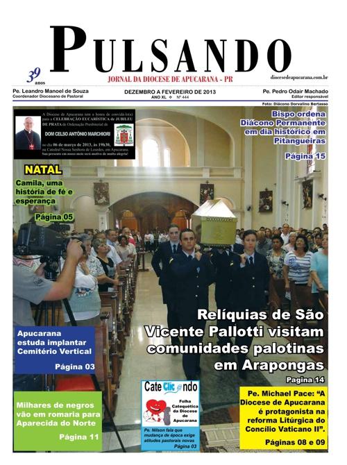 Jornal Pulsando Diocese de Apucarana