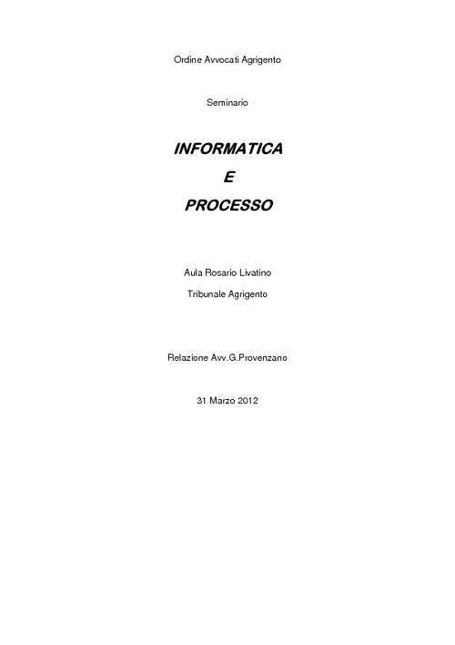 Relazione 31.03.2012
