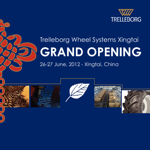 Trelleborg Wheel Systems Xingtai GRAND OPENING