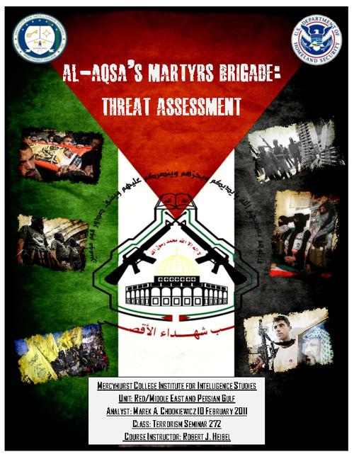 Al Aqsas Martyrs Brigade Threat Asssessment LFAR