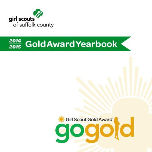 Gold Award Yearbook 2014-2015