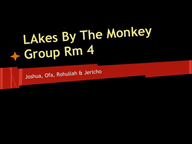 Lakes By Mokeys