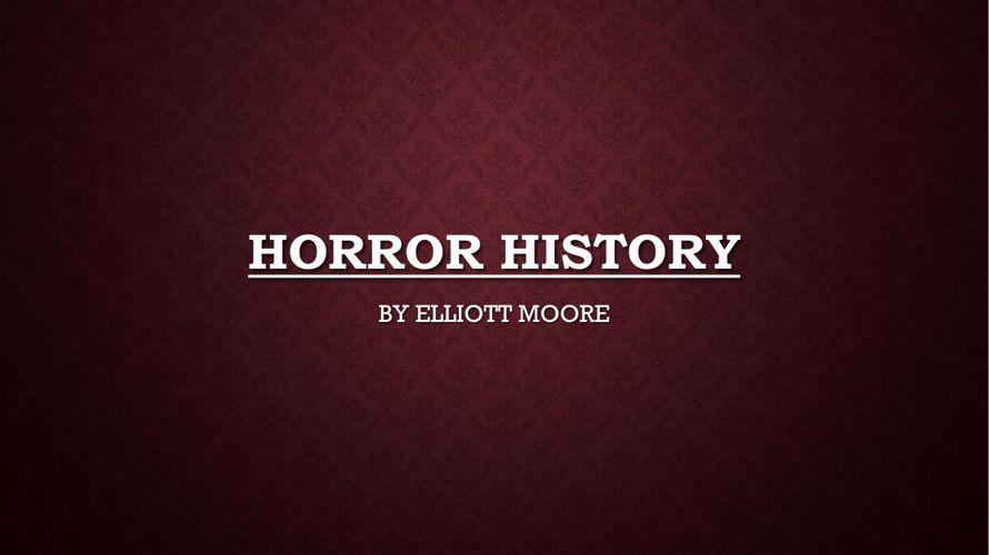 HORROR HISTORY 2 pdf