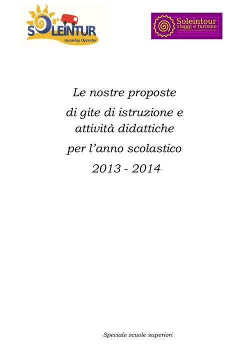 Soleintur Superiori 2014