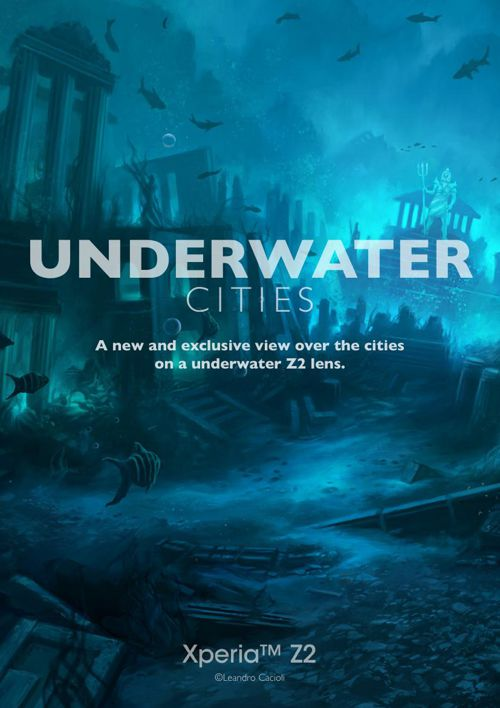 SONY - UNDERWATER CITIES