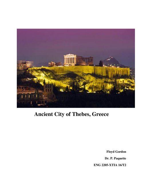 Historical Travel Brochure