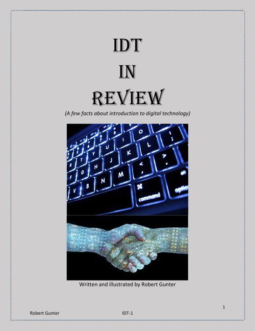 IDT in review robert gunter