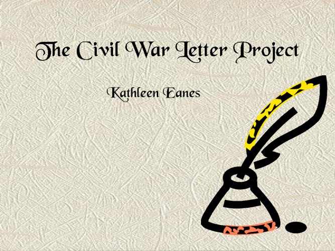 Civil War Letters Project