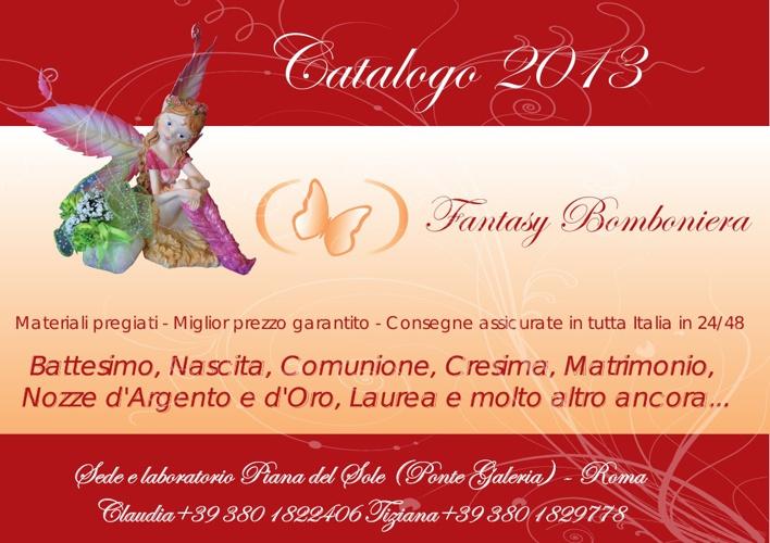 Catalogo 2013 - Fantasy Bomboniera