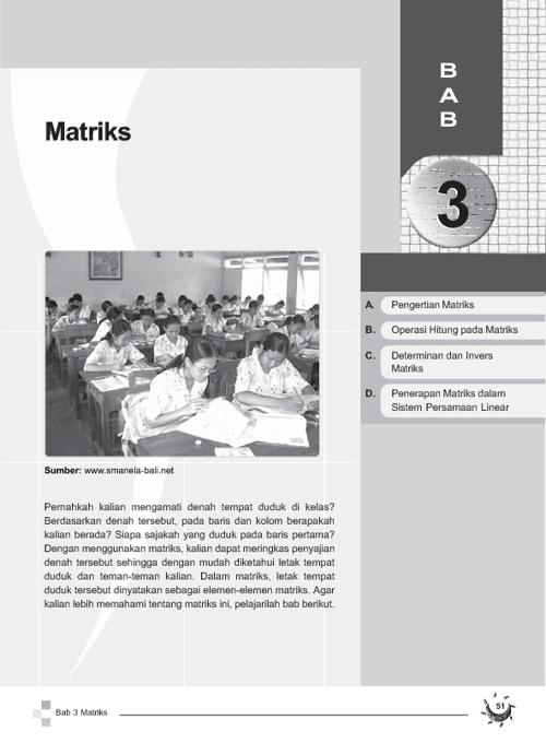 Pelajaran Matriks