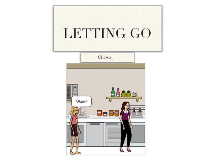 letting go chesca