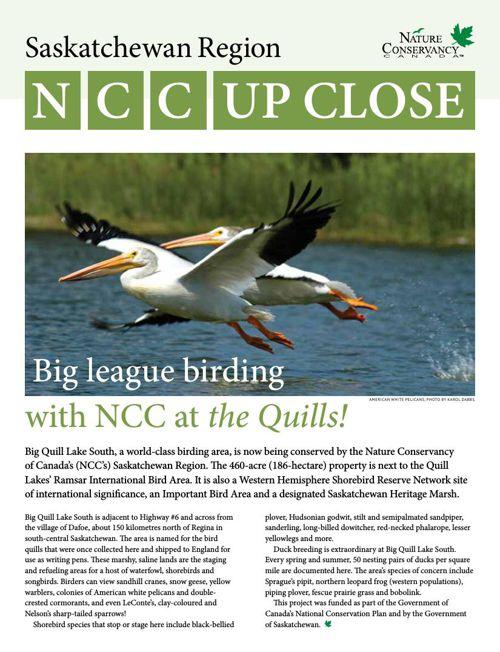 NCC Up Close - Saskatchewan Region