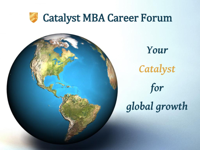 Catalyst MBA Career Forum