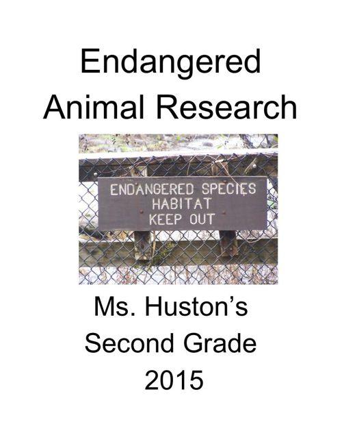 Endangered Animals Part I.